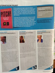 Drie pitch!-recenties